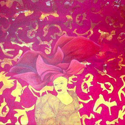 OMO TE KORO, 100 x 100, Acryl/L, 2012