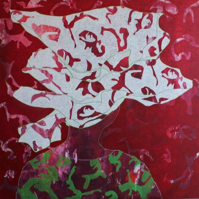 ONI GELE, 100 x 100, Acryl/L, 2012