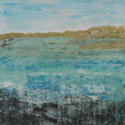 CALMNESS, 100 x 100, Acryl/L, 2012