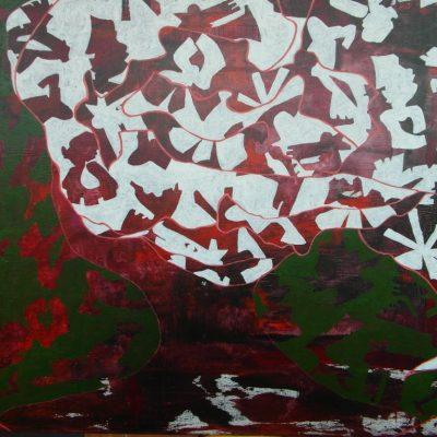 JO BUKO, 100 x 80, Acryl/L, 2013