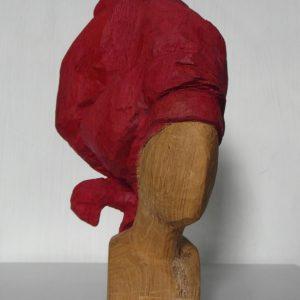 KORKOR, Holz/bemalt, H. 25 cm, 2012