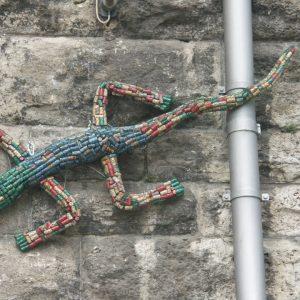 Installation ODOKO Hohenzollernbrücke Köln / Evangelischer Kirchentag 2007