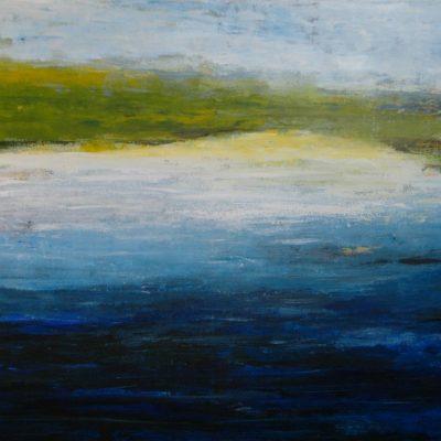 WATERLAND, 100 x 140, Acryl/L, 2013